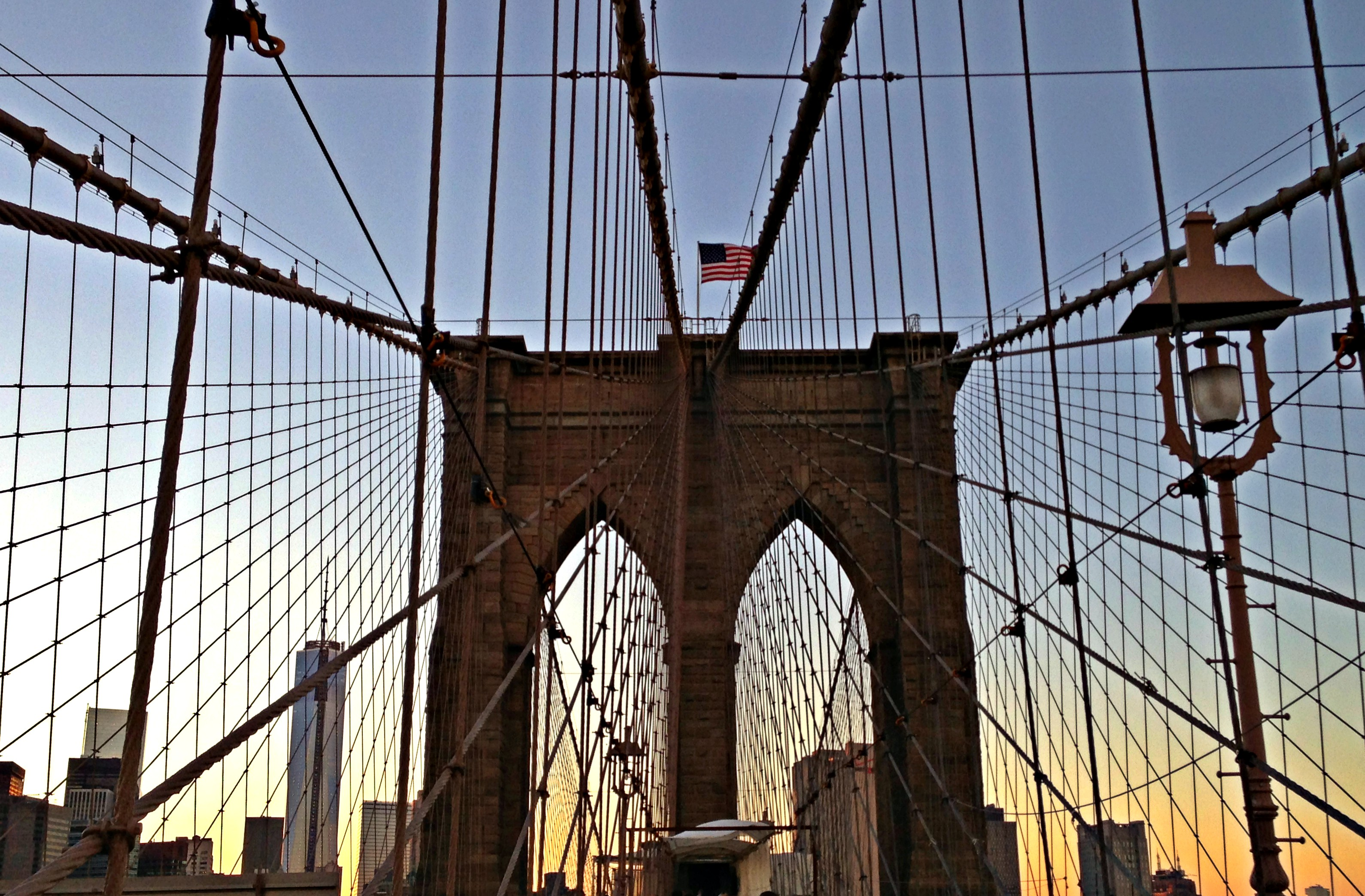 New York Brooklyn Bridge Beitrag