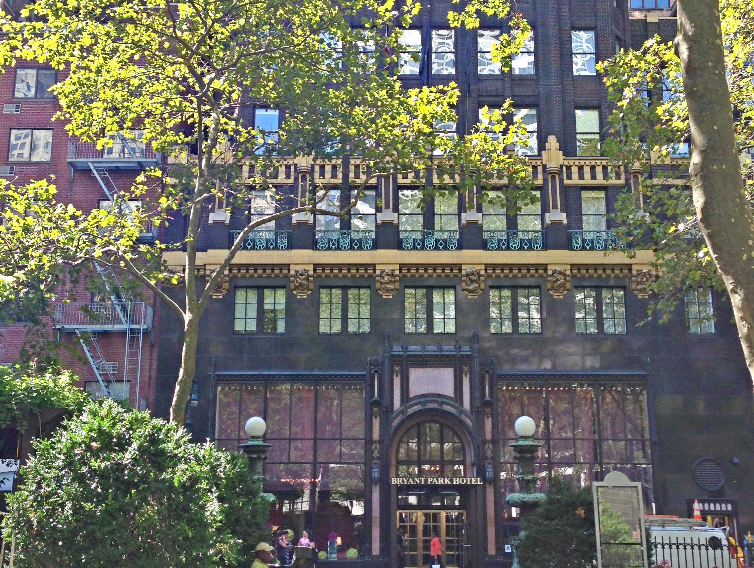 New York Bryant Park Hotel Beitrag Bild 3