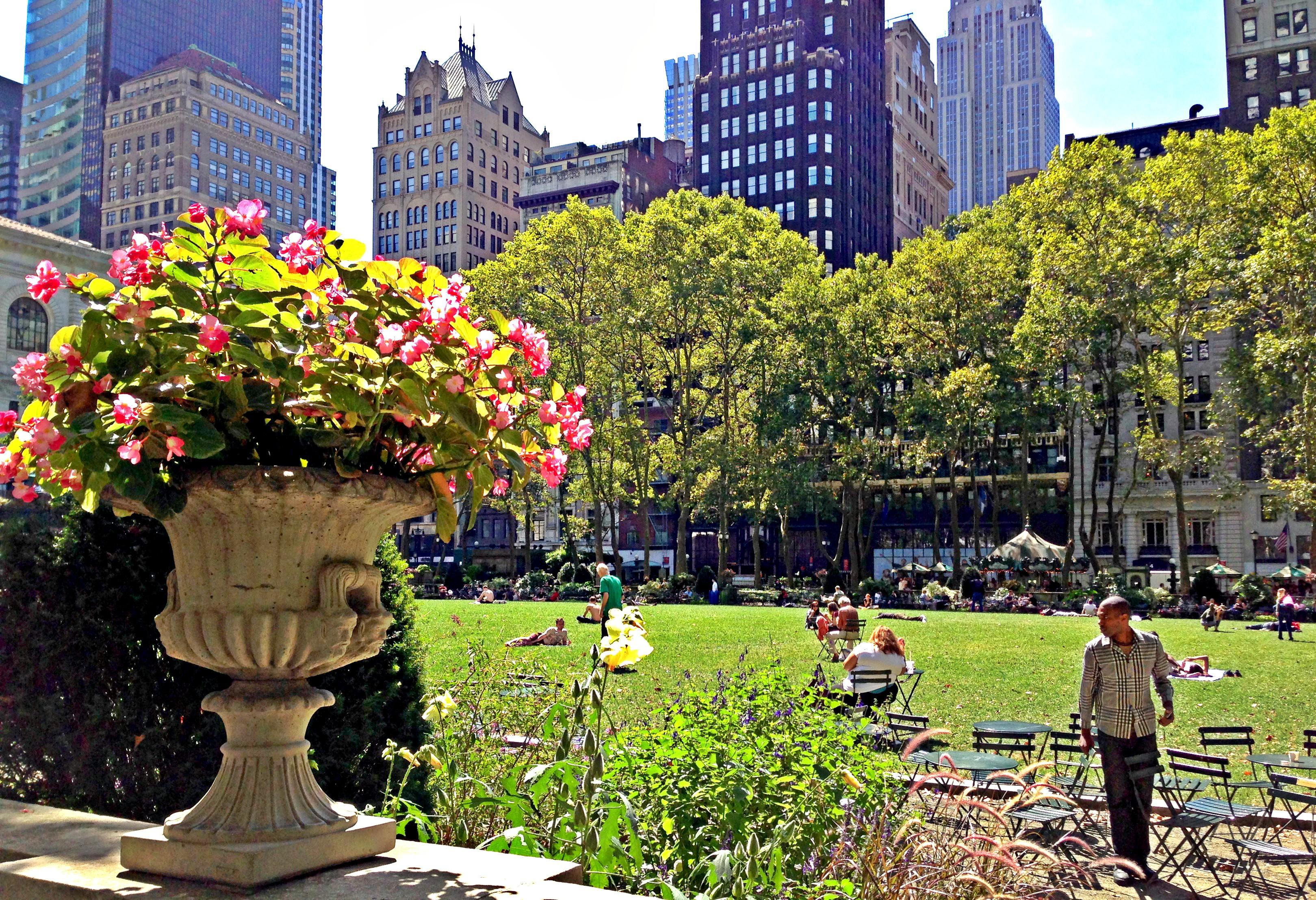 New York Bryant Park Beitrag 1