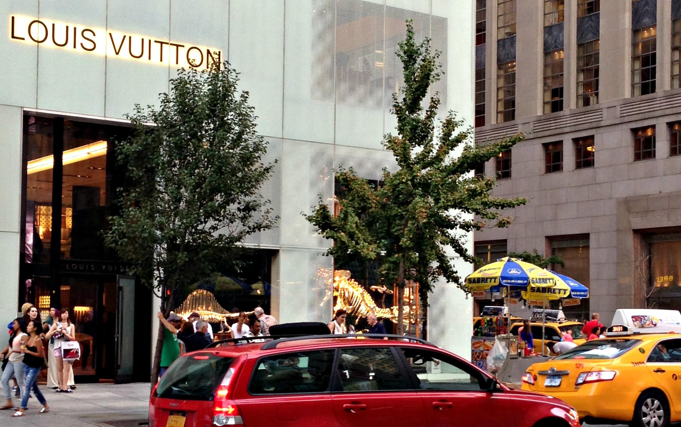 Louis Vuitton NYC Beitrag