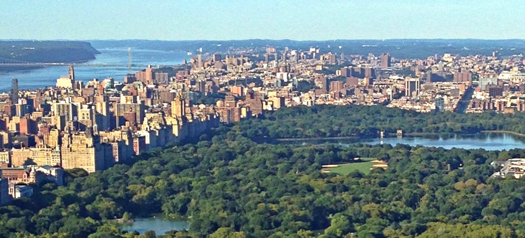 Top of the Rock NYC Beitrag von oben