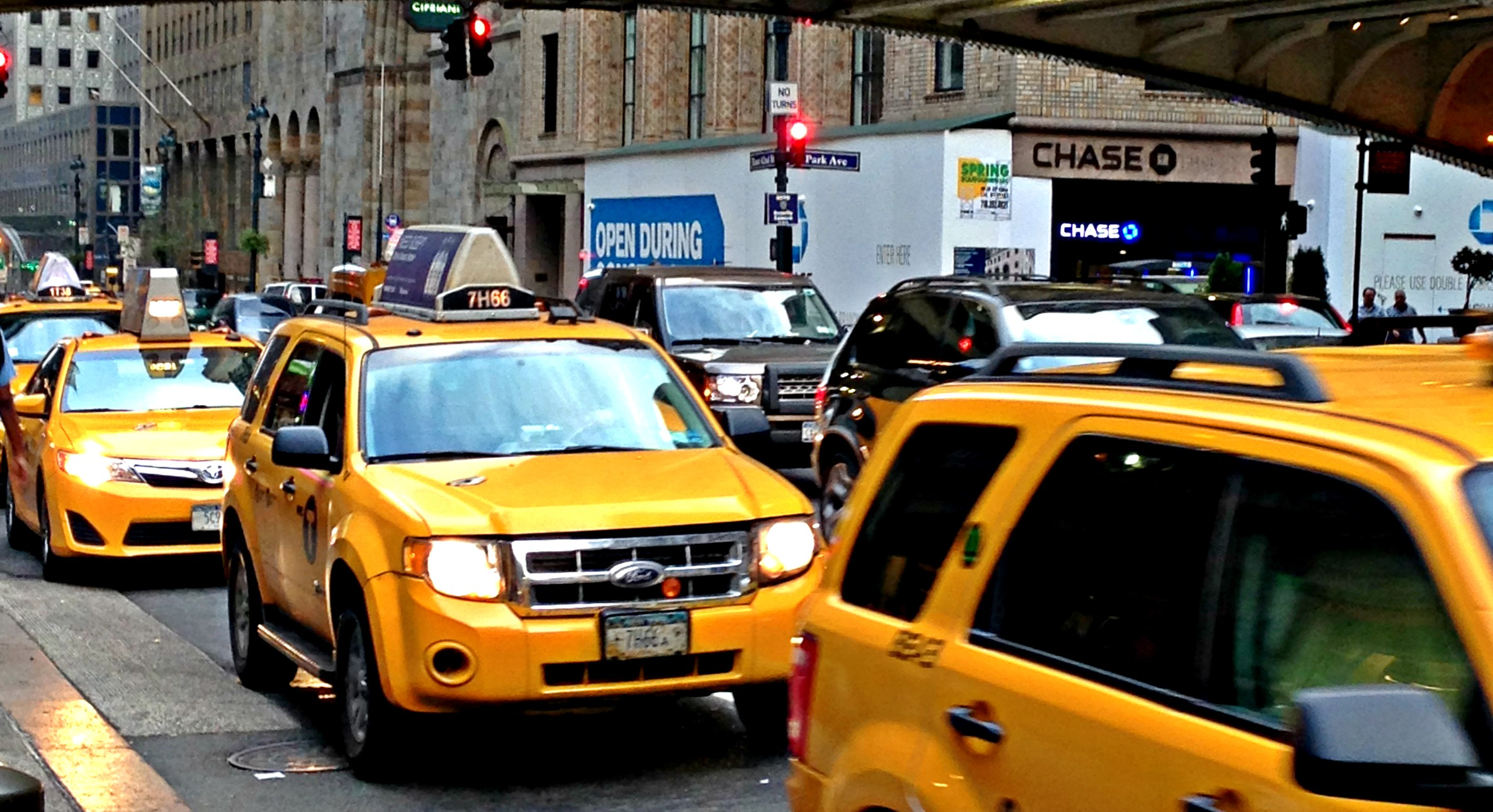 yellow cabs NYC Beitrag