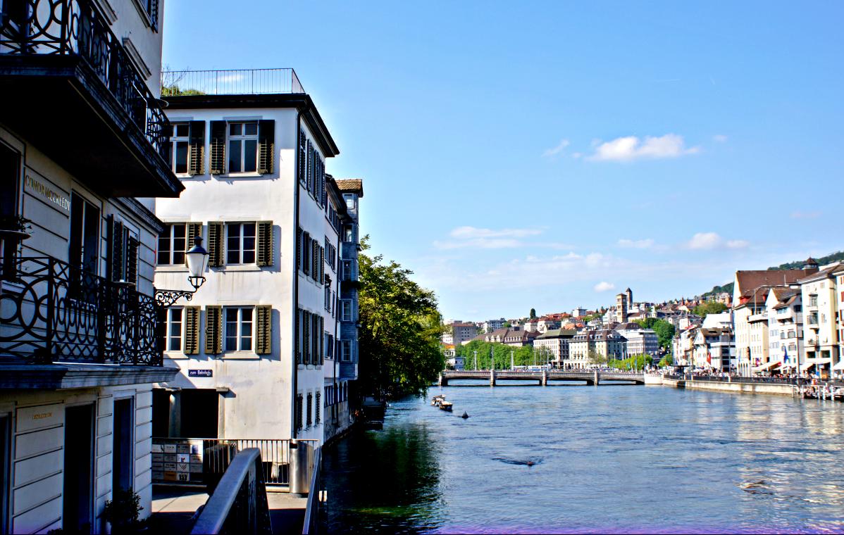 Way zurück durch Züri Altstadt