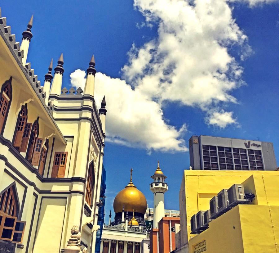 Arab Street Sultans Moschee