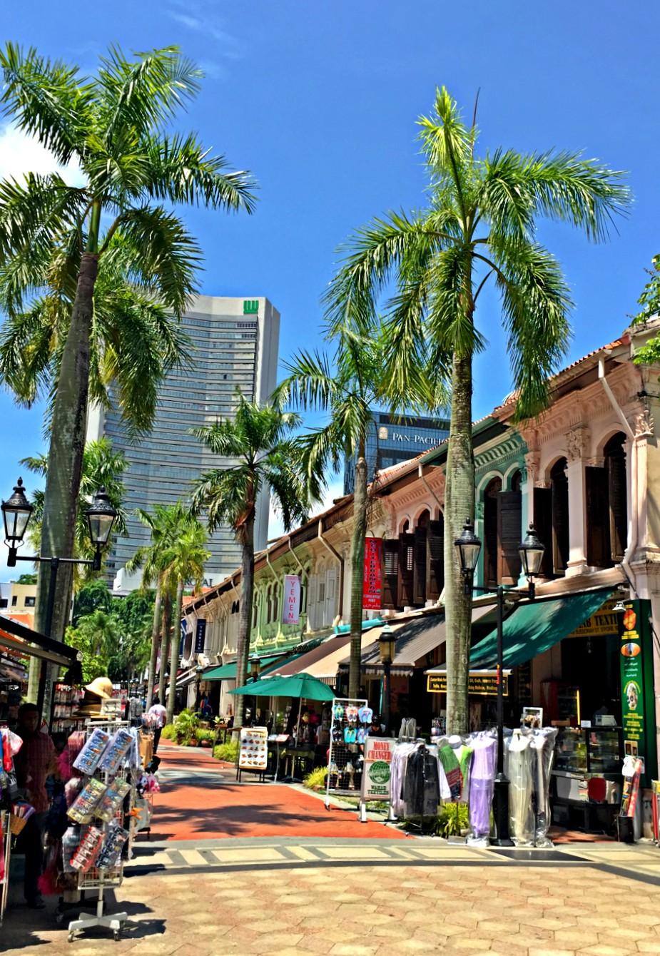 Arab Street shops