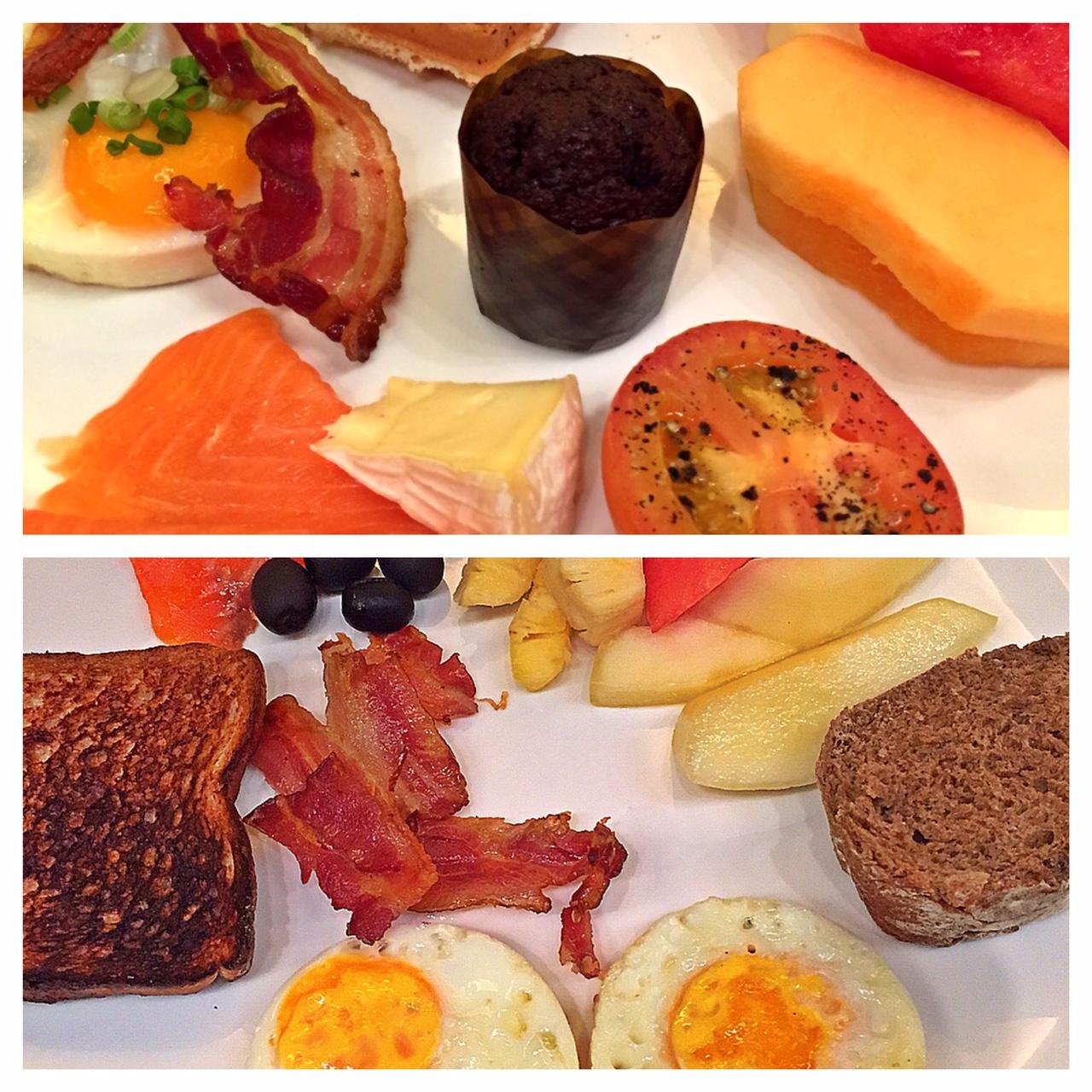 Frühstück Oasia hotel