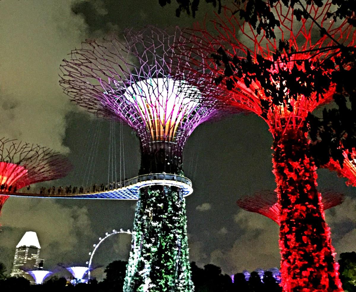 Klangexplosion Super trees
