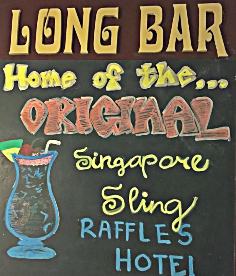 Long Bar-Singapur Sling