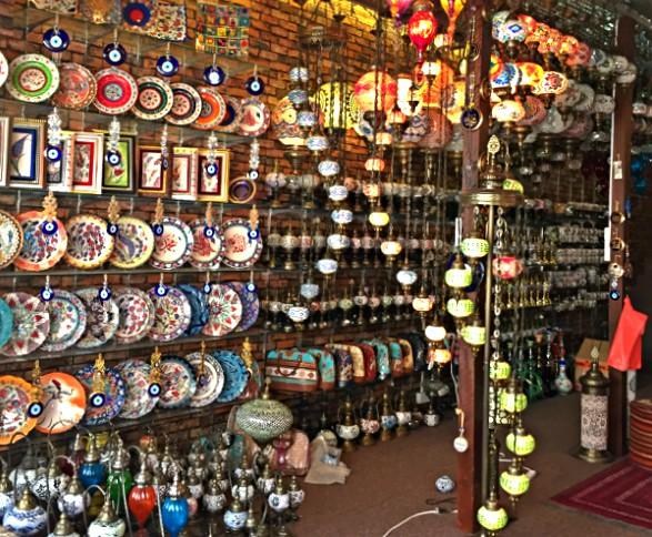 Shops arabisches Viertel