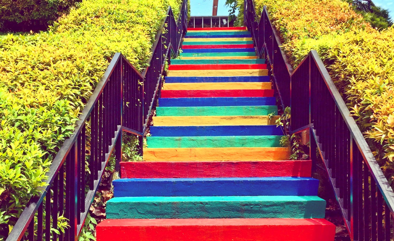 Stairs of Happiness