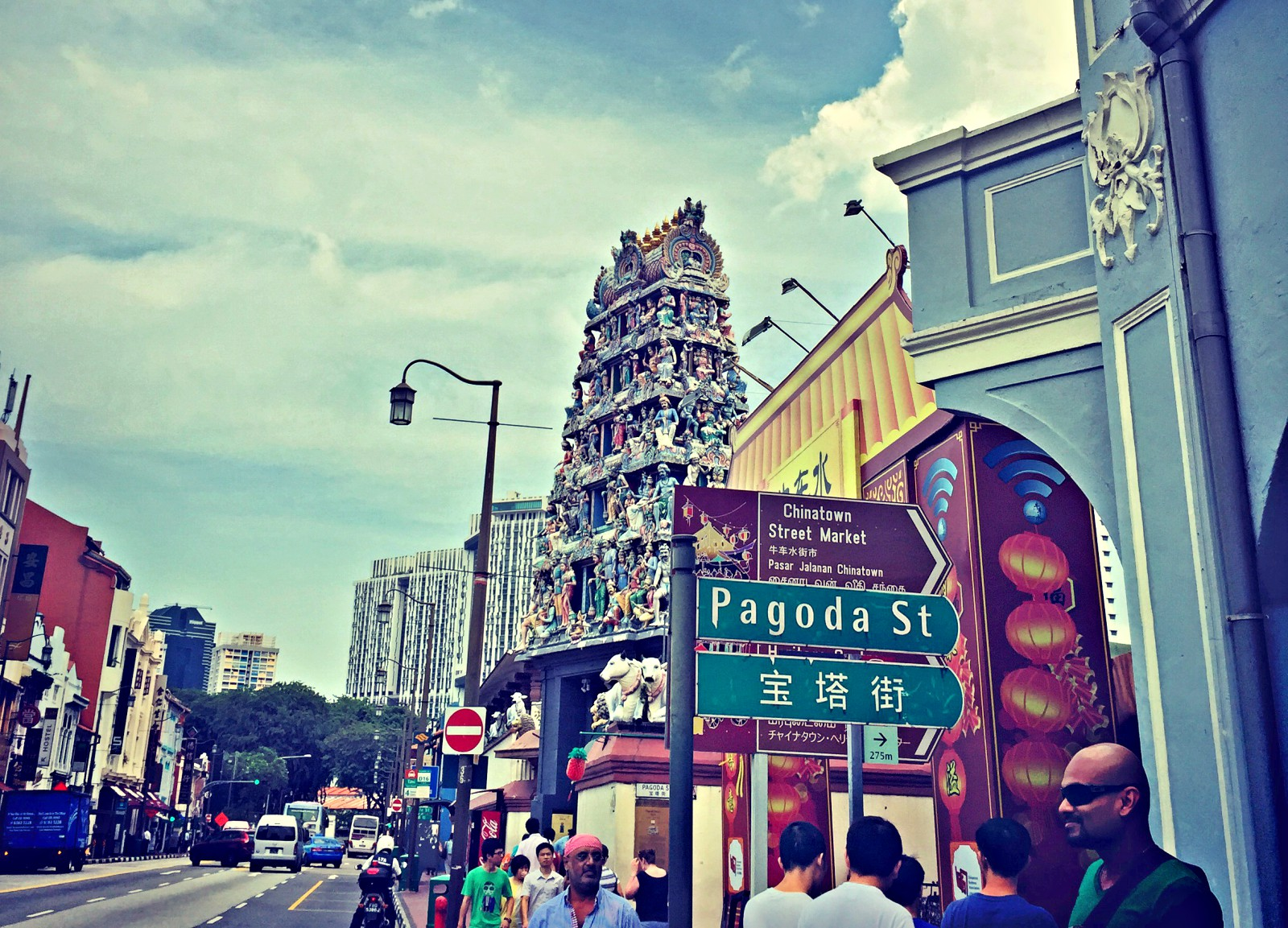 Tempel in Singapur