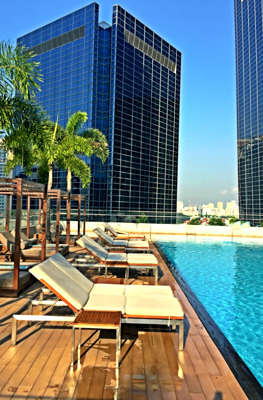 Roof Top Pool Oasia Hotel