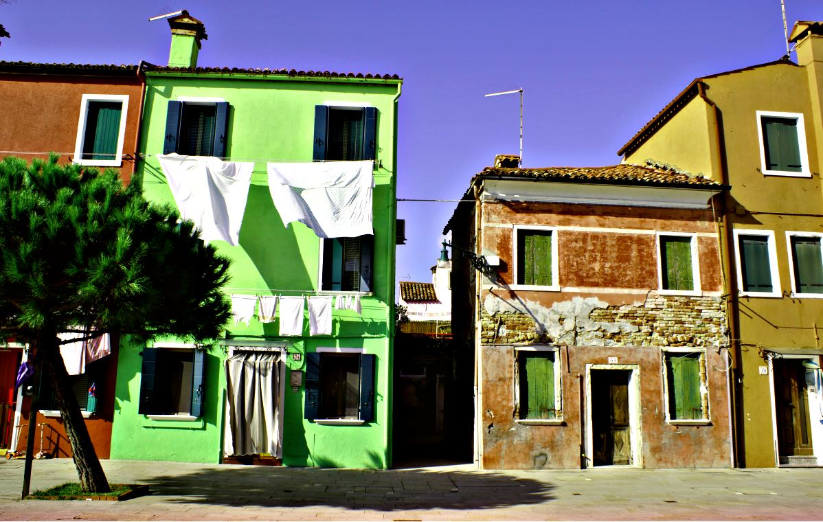Architektur in Burano