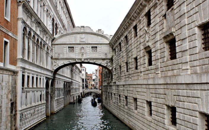 Berühmte Seufzer Brücke