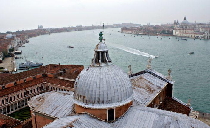 Blick auf das Kloster San Giorgio Maggiore