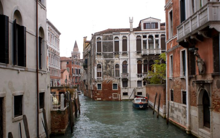 Canalblick in Venedig