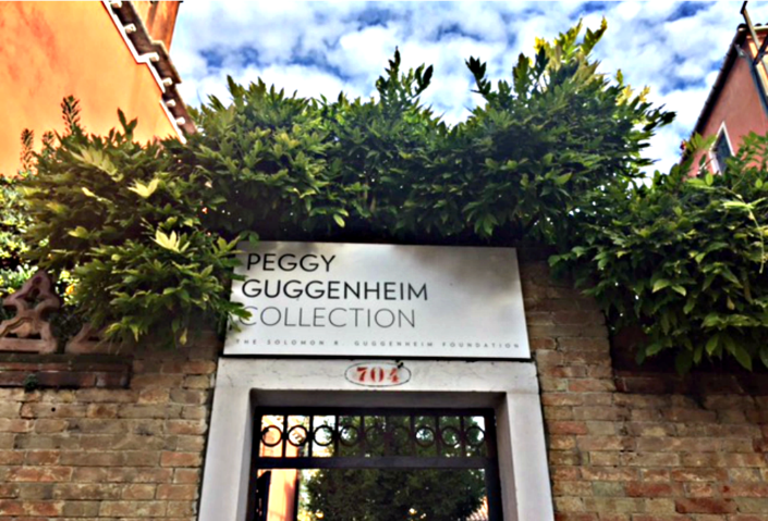 Eingang Peggy Guggenheim Collection