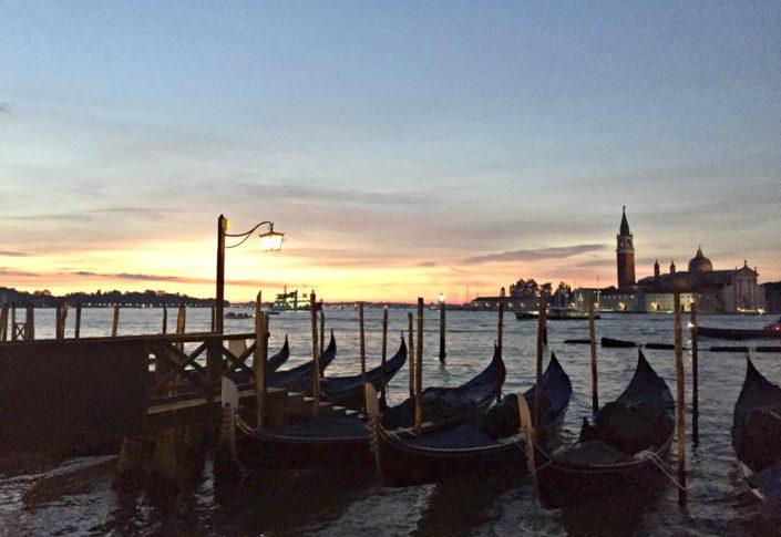 Sonnenaufgänge in San Marco