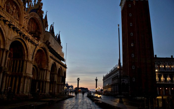 Sonnenaufgang bei San Marco