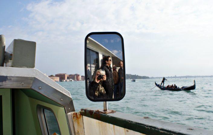 Selfie auf dem Wasserbus