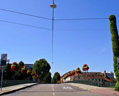 Autobrücke über die Murg