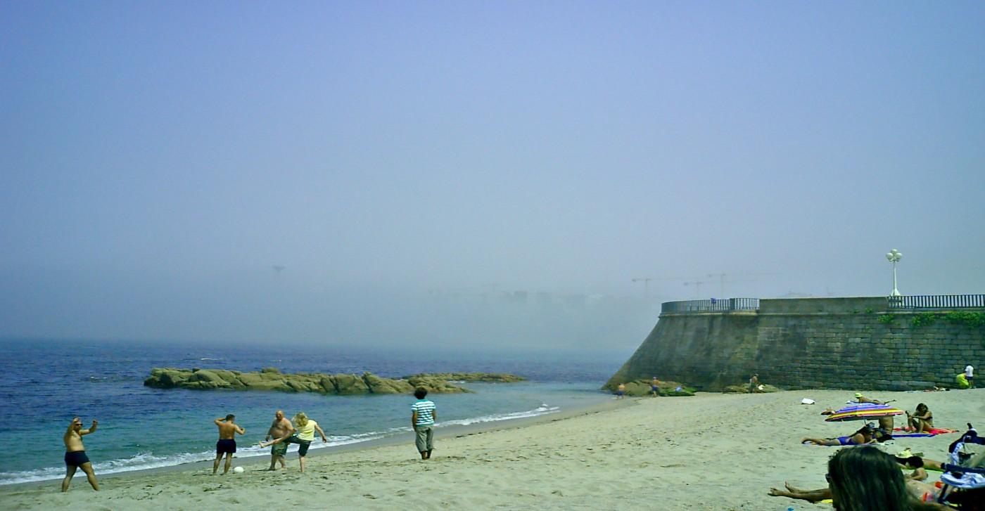 Beach von Coruna