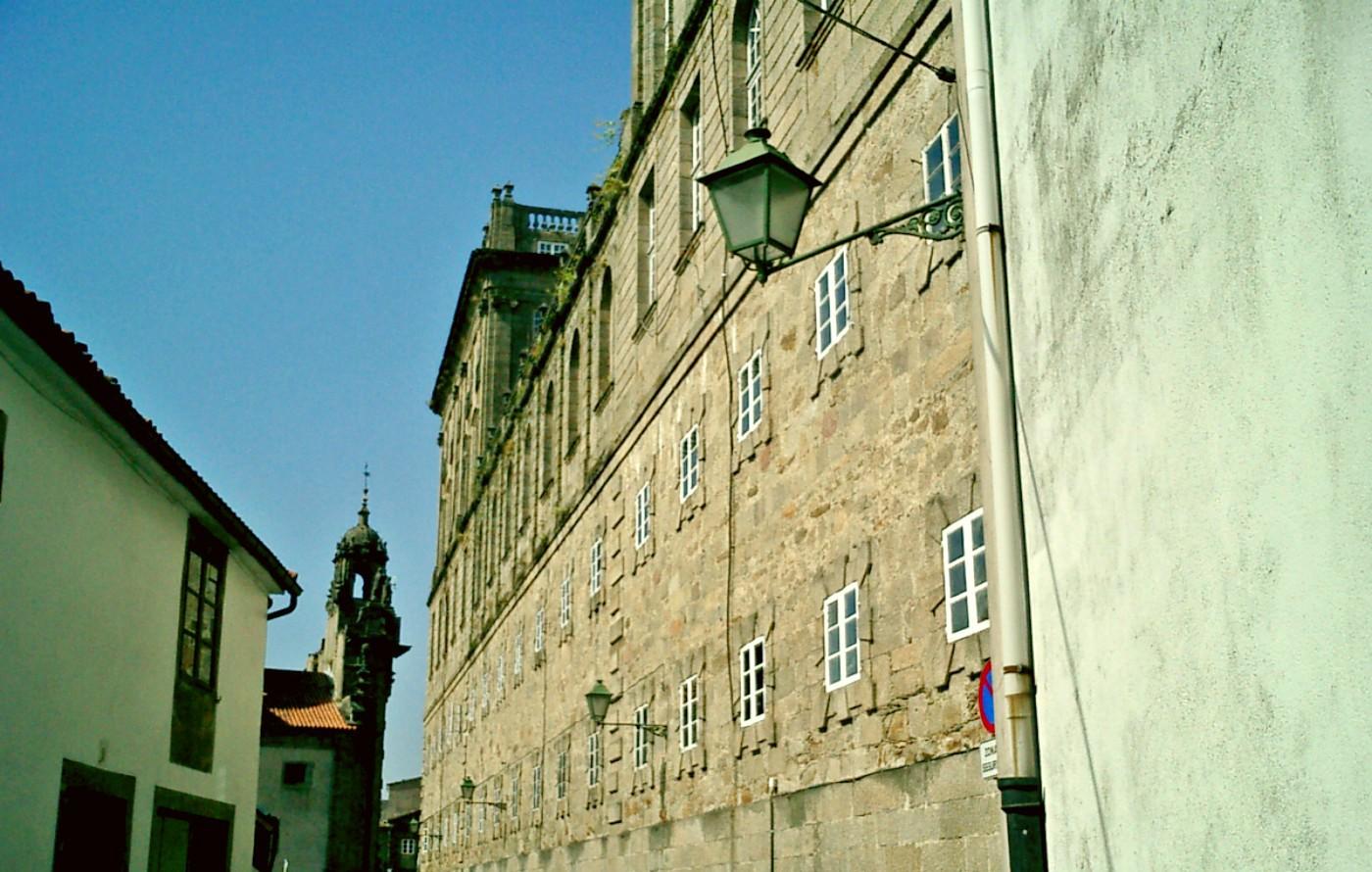 Klosteransicht Santiago de Compostela