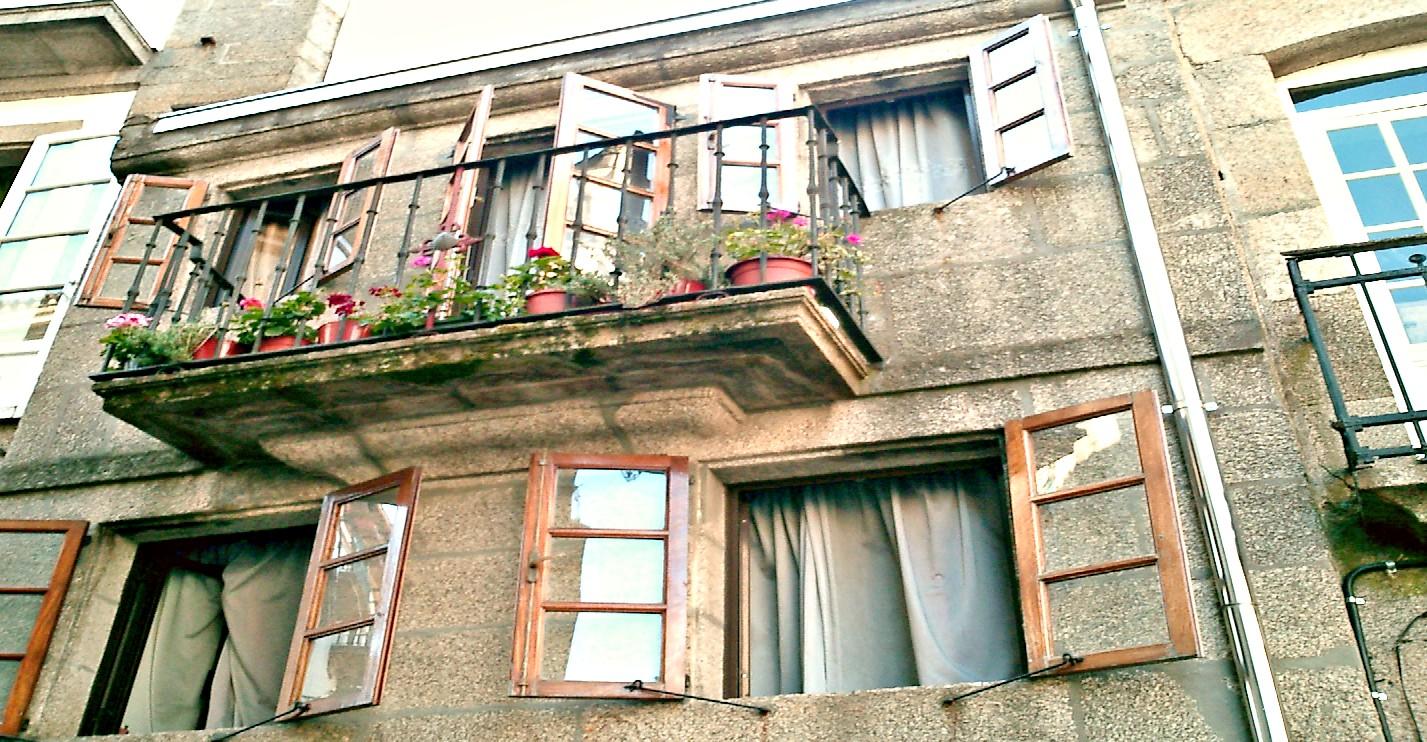 Typisch Balkonien in Santiago